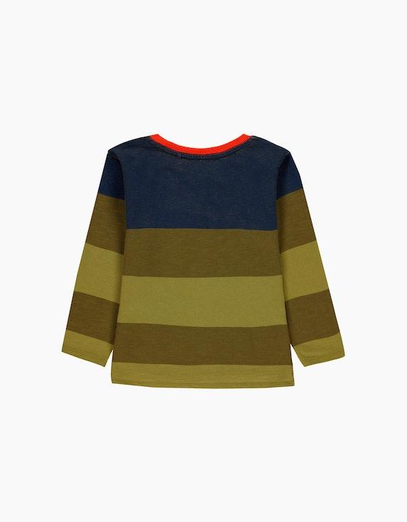 Esprit Mini Boys Langarmshirt mit Blockstreifen | ADLER Mode Onlineshop