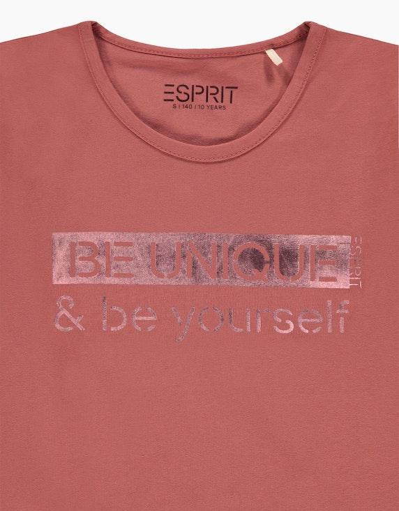 Esprit Girls Langarmshirt mit Statement-Print   ADLER Mode Onlineshop