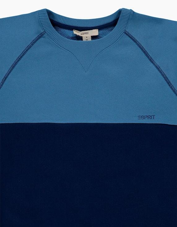 Esprit Boys Colorblock-Sweatshirt aus reiner Baumwolle   ADLER Mode Onlineshop