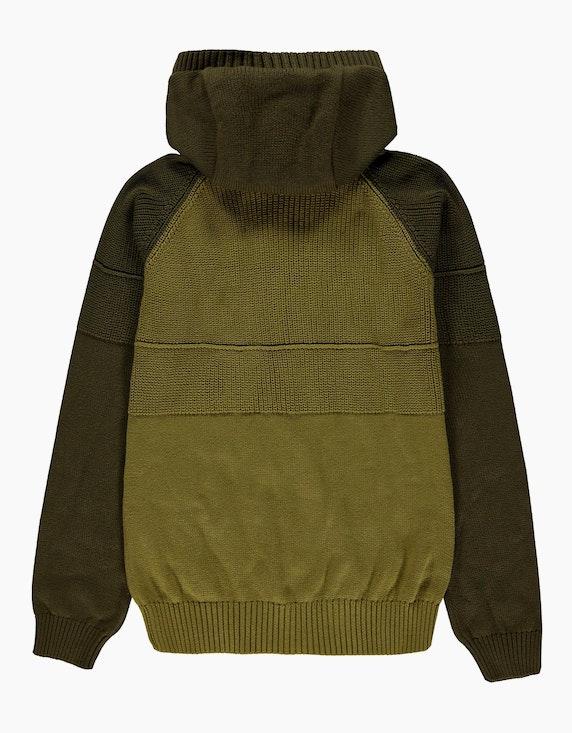 Esprit Boys Strickjacke mit Kapuze und Zipper   ADLER Mode Onlineshop