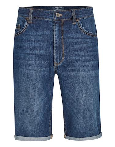 Produktbild zu Jeans-Bermuda mit Stretchanteil von Eagle Denim