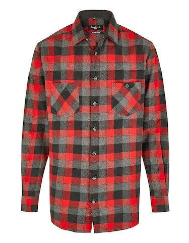 Produktbild zu <strong>Kariertes Flanellhemd mit zwei Brusttaschen</strong>REGULAR FIT von Bexleys man