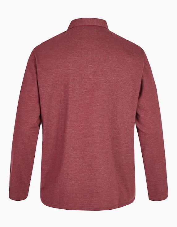 Big Fashion Poloshirt mit langen Ärmeln und Brusttasche | ADLER Mode Onlineshop