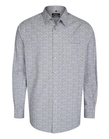 Produktbild zu <strong>Freizeithemd mit modischem Blümchenprint</strong>REGULAR FIT von Bexleys man