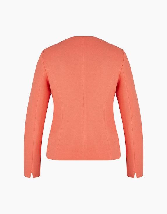 Steilmann Woman Piqué-Blazer mit Hakenverschlüssen | ADLER Mode Onlineshop