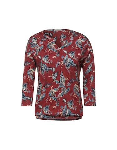 Produktbild zu Shirt mit Muster im Tunika-Style von CECIL