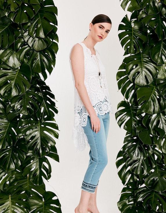 Viventy Jeanshose mit Stickerei in 7/8-Länge in Denim Blue   ADLER Mode Onlineshop