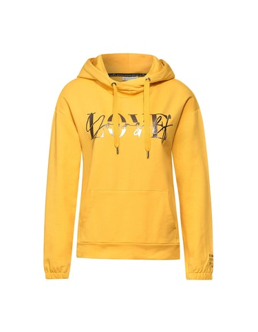 Produktbild zu Kapuzen-Pullover mit Wording von Street One