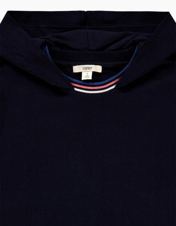 Esprit Girls Sweatkleid mit Kapuze und sportiven Streifen-Details | ADLER Mode Onlineshop
