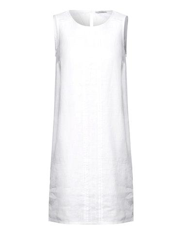 Produktbild zu Leinen Kleid in Unifarbe von CECIL