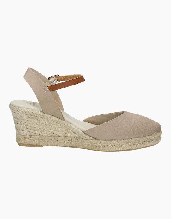Sansibar Sandale in Beige | ADLER Mode Onlineshop