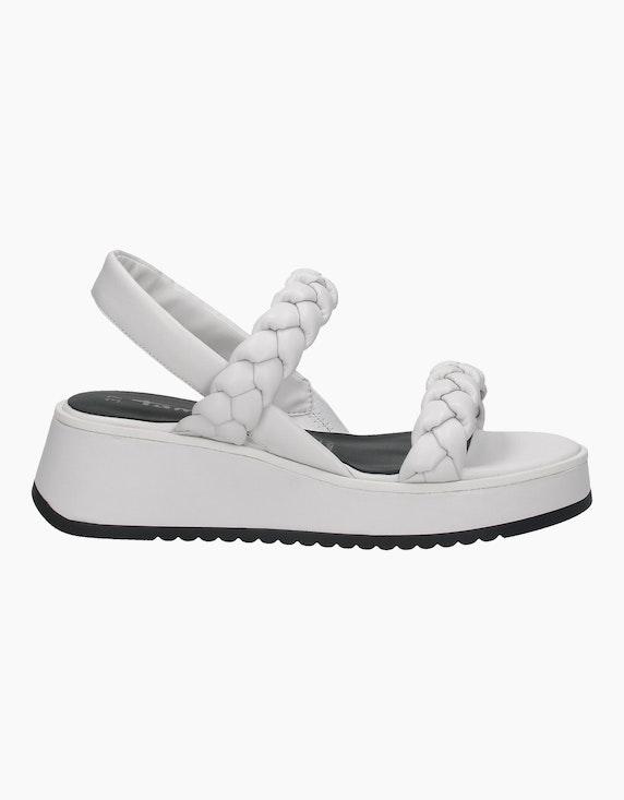 Tamaris Sandale in Weiß | ADLER Mode Onlineshop