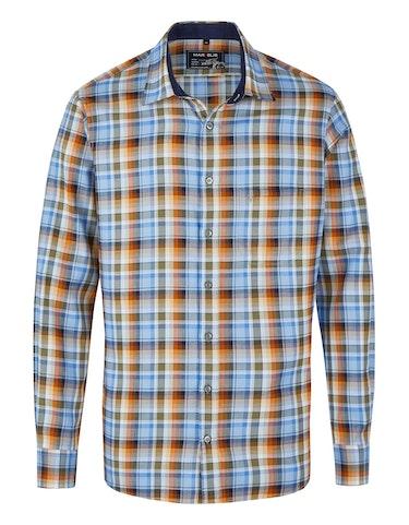 Produktbild zu <strong>Freizeithemd im herbstlichen Karo-Dessin</strong>MODERN FIT von Marvelis
