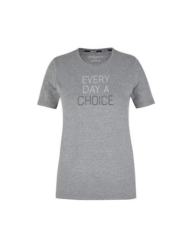 Produktbild zu Fitness-Shirt mit Melange-Effekt von Fit&More