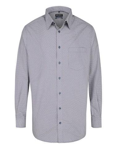 Produktbild zu <strong>Dresshemd mit Alloverprint</strong>REGULAR FIT von Bernd Berger