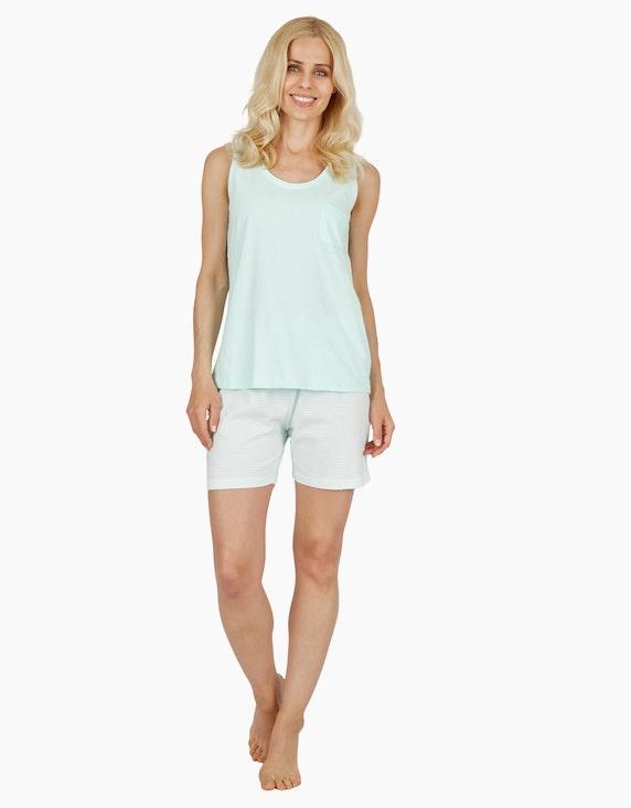 Bexleys woman Mix&Match kurze Hose mit Allover-Print   ADLER Mode Onlineshop