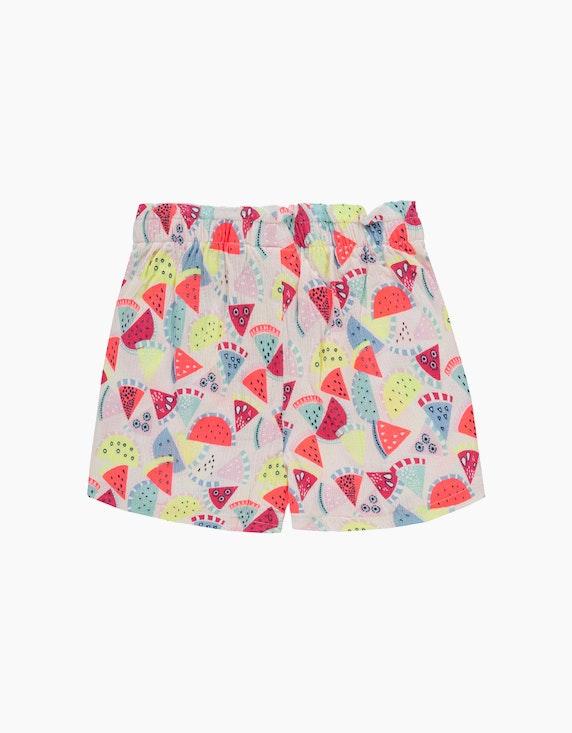 Tom Tailor Mini Girls Shorts mit Druck | ADLER Mode Onlineshop