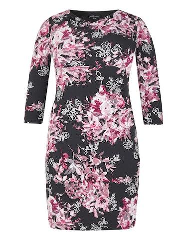 Produktbild zu Jerseykleid mit Blumendruck von KS. selection