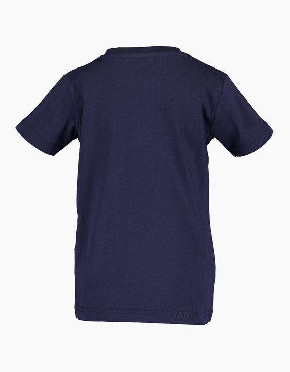 Blue Seven Mini Boys T-Shirt mit platziertem Front-Druck | ADLER Mode Onlineshop