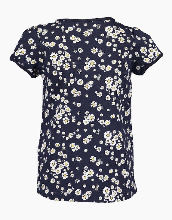 Blue Seven Mini Girls T-Shirt mit Allover-Print | ADLER Mode Onlineshop