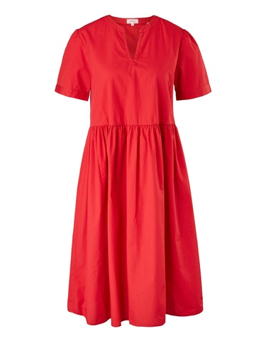 Produktbild zu <strong>Kleid mit Tunika-Ausschnitt</strong>reine Baumwolle von s.Oliver