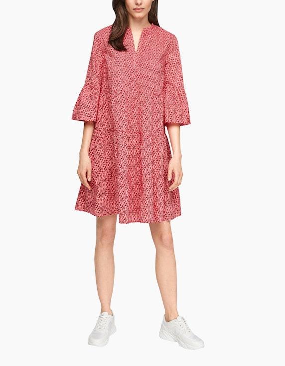 s.Oliver Kleid mit Stufen im Tunika-Style | ADLER Mode Onlineshop