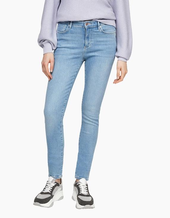 s.Oliver Skinny Fit: Skinny leg-Jeans | ADLER Mode Onlineshop