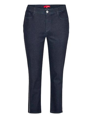 Produktbild zu Jeans-Hose mit Galonstreifen von Thea