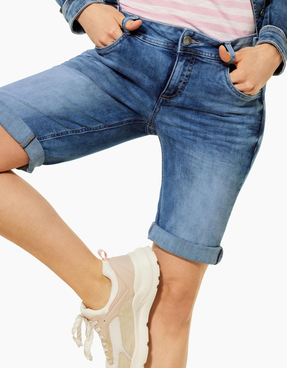 Street One Bermuda-Jeanshose, Casual Fit, Style Jane   ADLER Mode Onlineshop