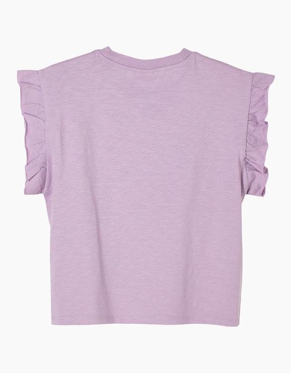 s.Oliver Girls T-Shirt mit Rüschen-Ärmeln   ADLER Mode Onlineshop