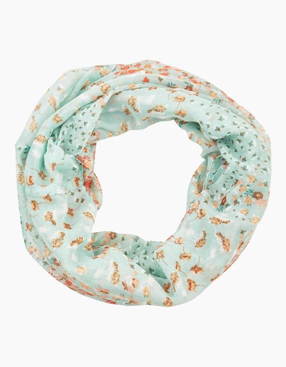 MY OWN Loop-Schal mit Blumendruck | ADLER Mode Onlineshop