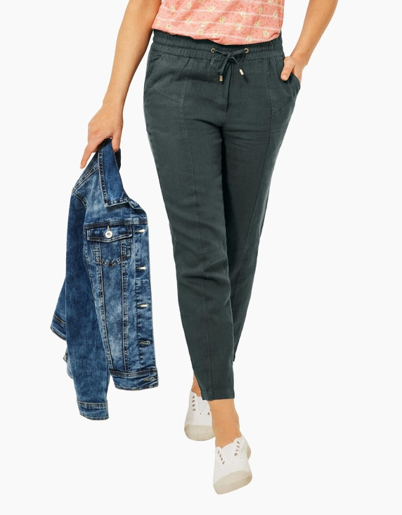 CECIL Leinen-Hose im Loose-Fit-Style, Chelsea   ADLER Mode Onlineshop