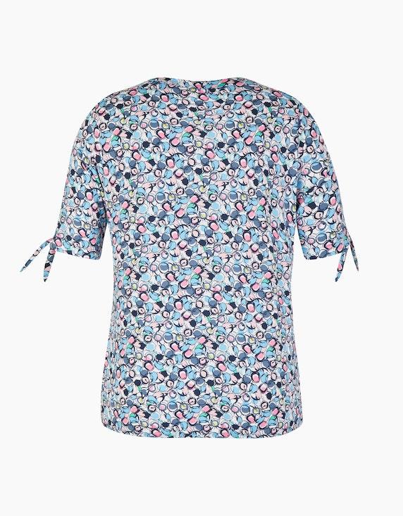 Rabe Shirt mit grafischem Muster und Bindebändern   ADLER Mode Onlineshop