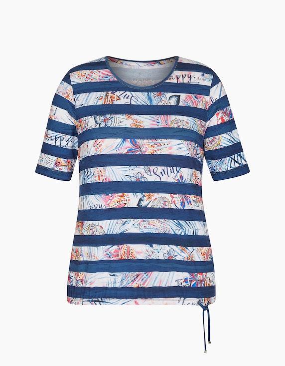 Rabe Shirt mit Allover-Muster | ADLER Mode Onlineshop