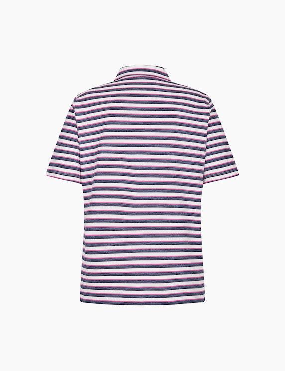 Rabe Sportives Poloshirt mit Streifenmuster | ADLER Mode Onlineshop