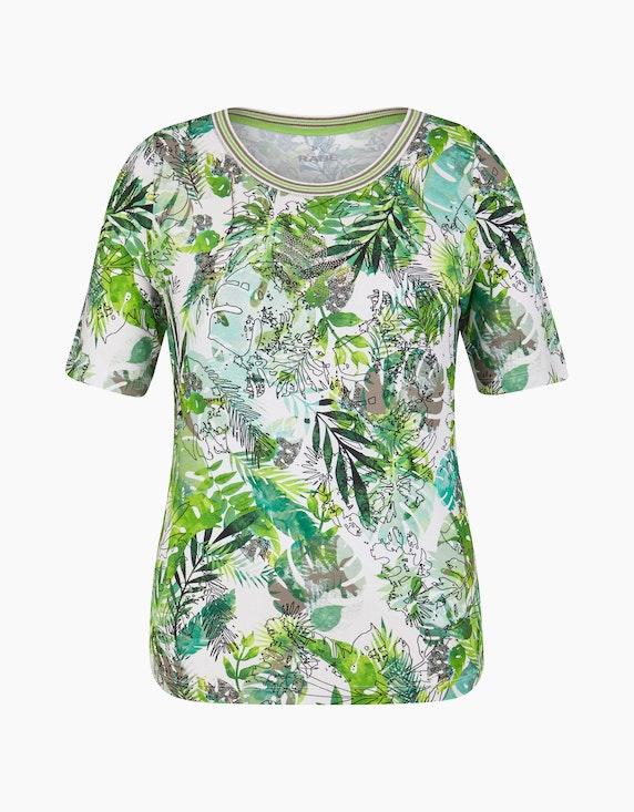 Rabe Shirt mit floralem Allover-Print   ADLER Mode Onlineshop