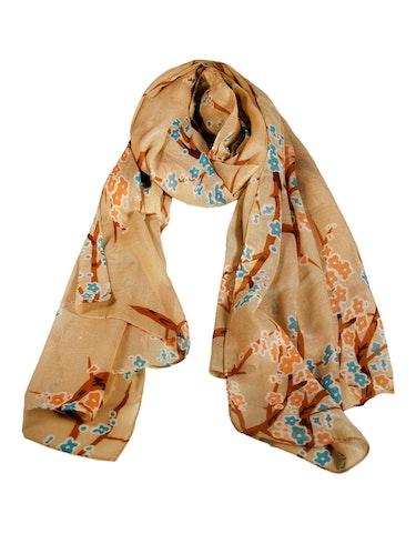 Produktbild zu Schal mit floralem Druck von Adler Collection