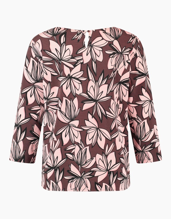 Gerry Weber Collection Shirt mit Blumenmuster   ADLER Mode Onlineshop