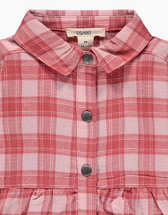 Esprit Baby Girls Hemdblusenkleid aus Baumwoll-Flanell | ADLER Mode Onlineshop