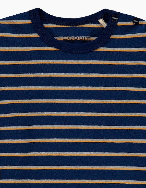 Esprit Baby Boys Langarmshirt mit Ringelmuster   ADLER Mode Onlineshop