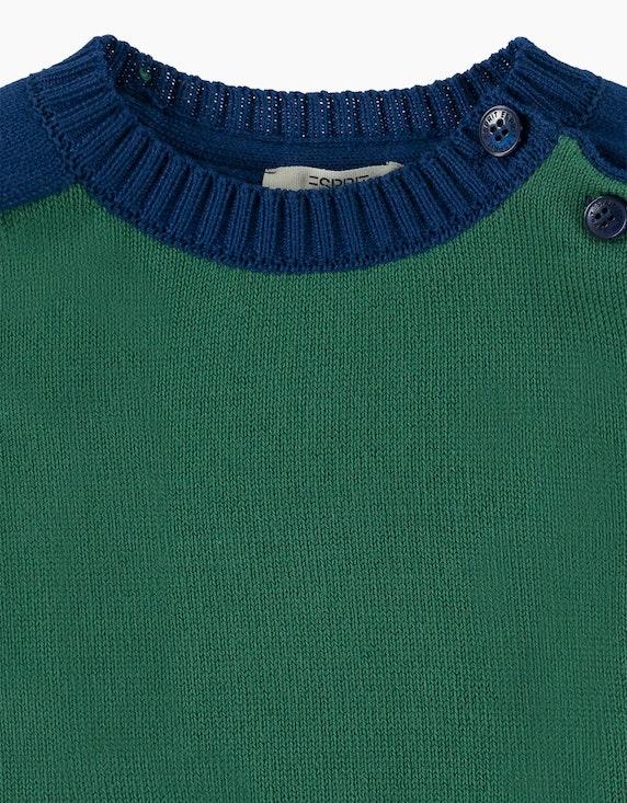 Esprit Baby Boys Colorblock-Pullover aus Baumwolle | ADLER Mode Onlineshop