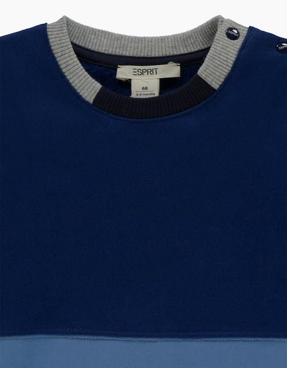 Esprit Baby Boys Sweatshirt im Colorblock-Look | ADLER Mode Onlineshop