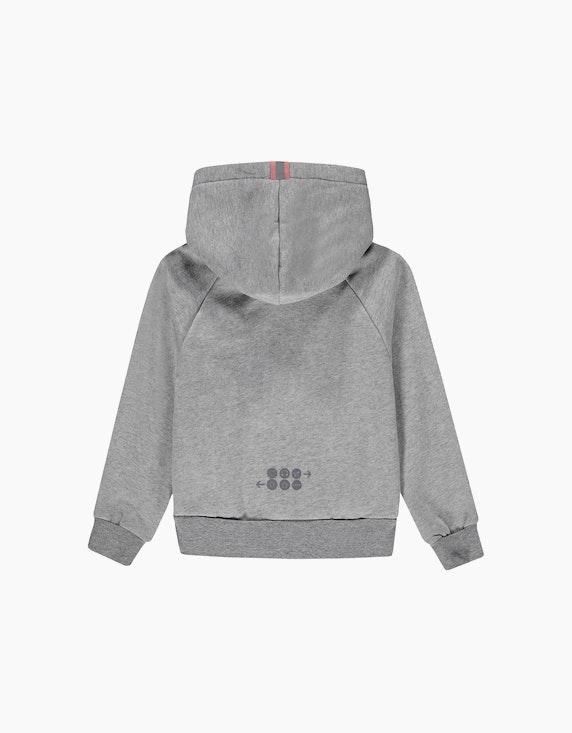 Esprit Mini Girls Sweatjacke mit Kapuze und reflektierenden Details | ADLER Mode Onlineshop