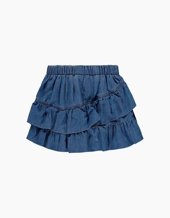 Esprit Mini Girls Volant-Rock im Jeanslook | ADLER Mode Onlineshop