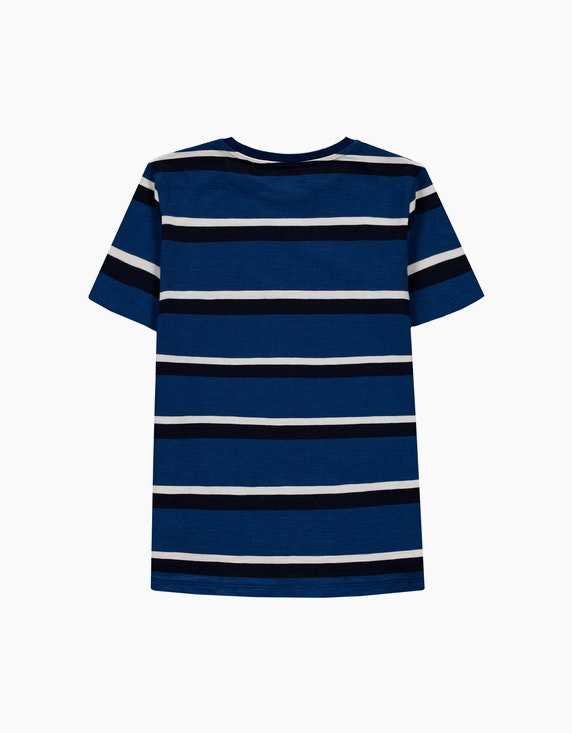 Esprit Boys Streifen-T-Shirt aus reiner Baumwolle   ADLER Mode Onlineshop