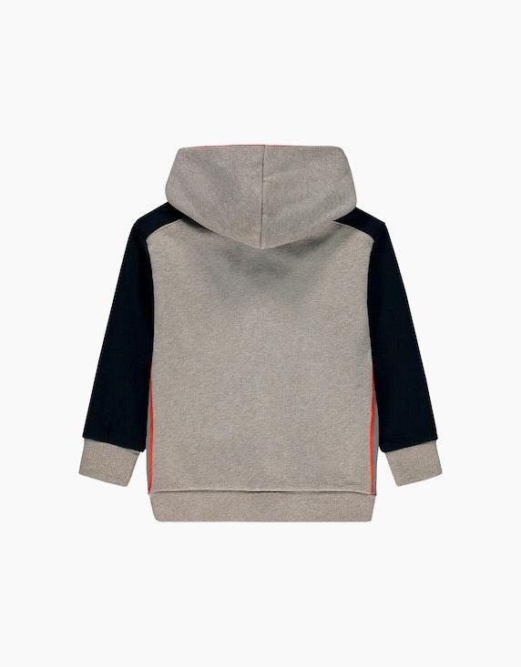 Esprit Mini Boys Sweat-Cardigan mit reflektierenden Kontraststreifen | ADLER Mode Onlineshop