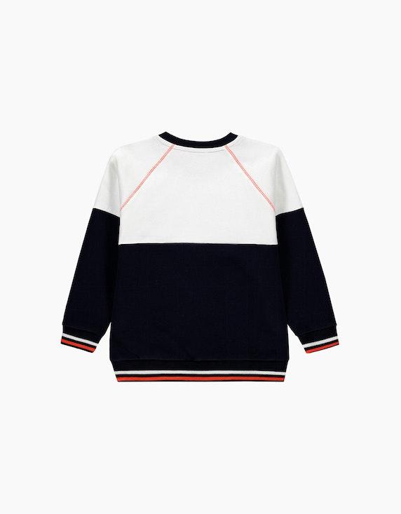 Esprit Mini Boys Sweatshirt im Colorblock-Look | ADLER Mode Onlineshop