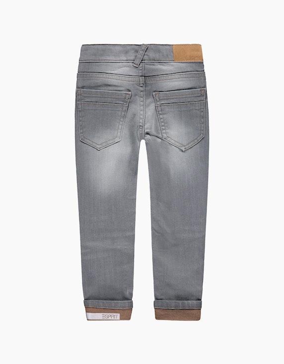 Esprit Mini Boys Jeans mit Verstellbund und reflektierenden Details | ADLER Mode Onlineshop