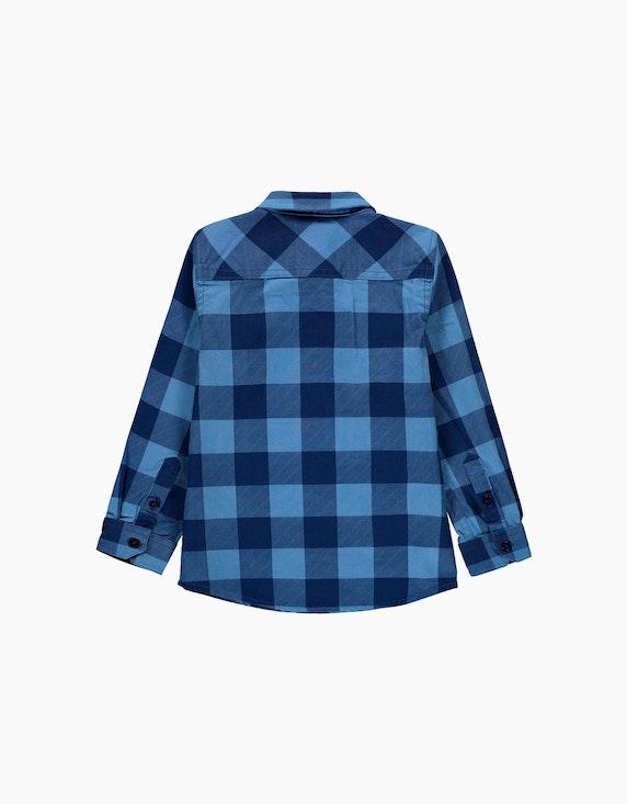 Esprit Mini Boys Karo-Hemd aus reiner Baumwolle | ADLER Mode Onlineshop