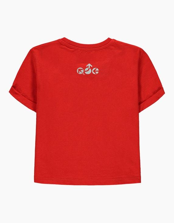 Esprit Girls Boxy-Shirt mit reflektierendem Print   ADLER Mode Onlineshop